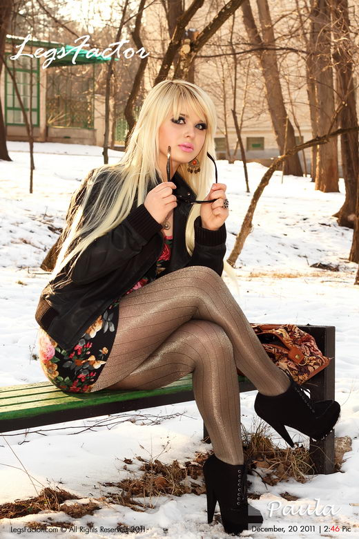 Paula - `In Shiny Avantgarde Cappucino Metallic` - for LEGSFACTOR