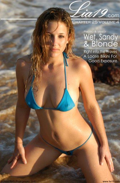 Lia19 - `Chapter 25 Volume 4 - Wet Sandy & Blonde` - for LIA19