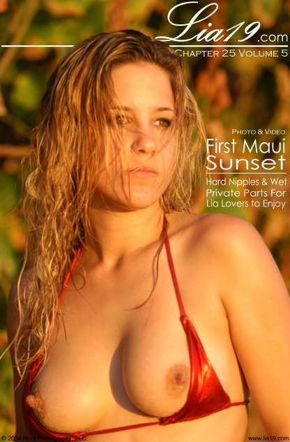Lia19 - `Chapter 25 Volume 5 - First Maui Sunset` - for LIA19