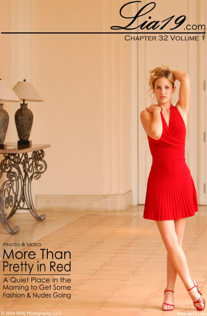 Lia19 - `Chapter 32 Volume 1 - More Than Pretty in Red` - for LIA19