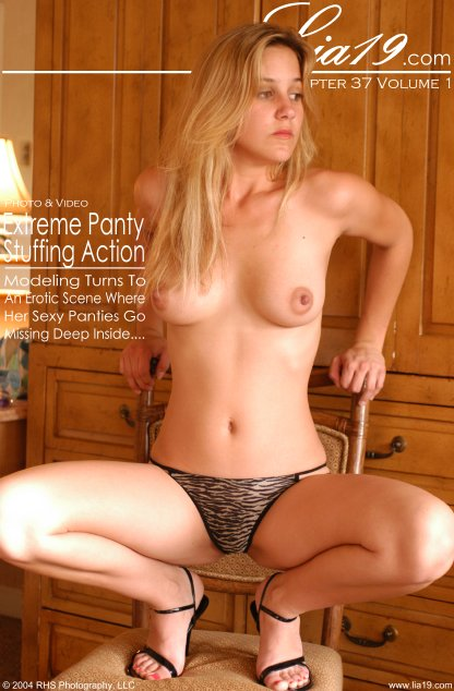 Lia19 - `Chapter 37 Volume 1 - Extreme Panty Stuffing Action` - for LIA19
