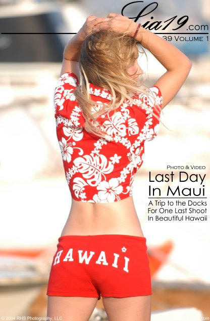 Lia19 - `Chapter 39 Volume 1 - Last Day In Maui` - for LIA19