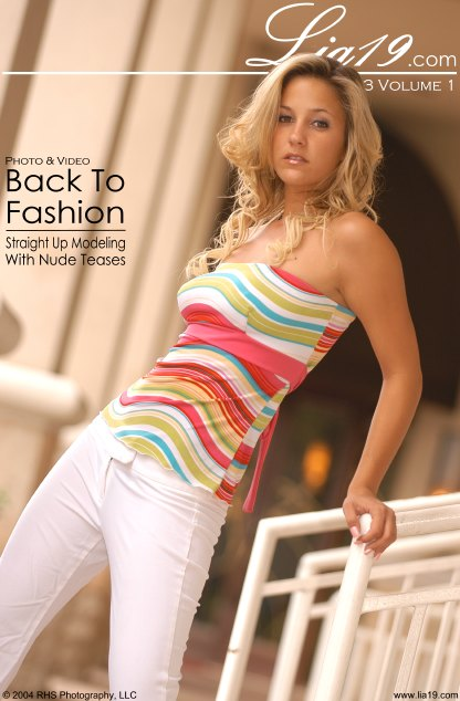 Lia19 - `Chapter 63 Volume 1 - Back To Fashion` - for LIA19