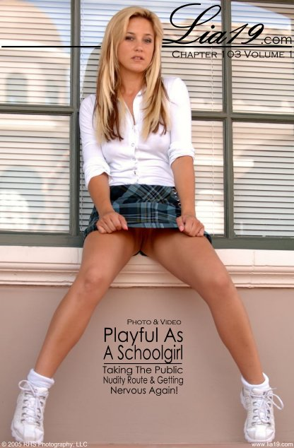 Lia19 - `Chapter 103 Volume 1 - Playful As A Schoolgirl` - for LIA19