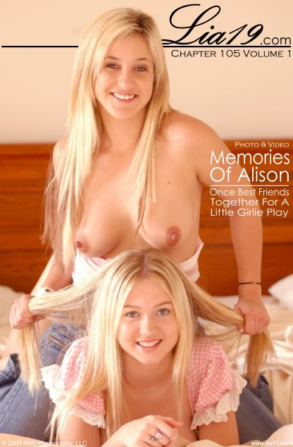 Lia19 & Alison - `Chapter 105 Volume 1 - Memories Of Alison` - for LIA19