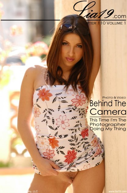 Lia19 - `Chapter 110 Volume 1 - Behind The Camera` - for LIA19