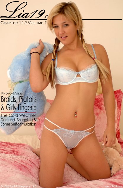 Lia19 - `Chapter 112 Volume 1 - Braids Pigtails & Girly Lingerie` - for LIA19