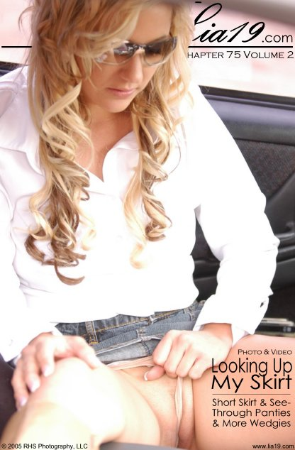 Lia19 - `Chapter 75 Volume 2 - Looking Up My Skirt` - for LIA19