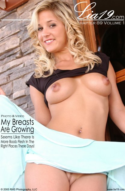 Lia19 - `Chapter 89 Volume 1 - My Breasts Are Growing` - for LIA19
