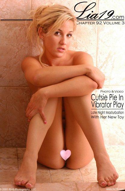 Lia19 - `Chapter 92 Volume 3 - Cutsie Pie In Vibrator Play` - for LIA19