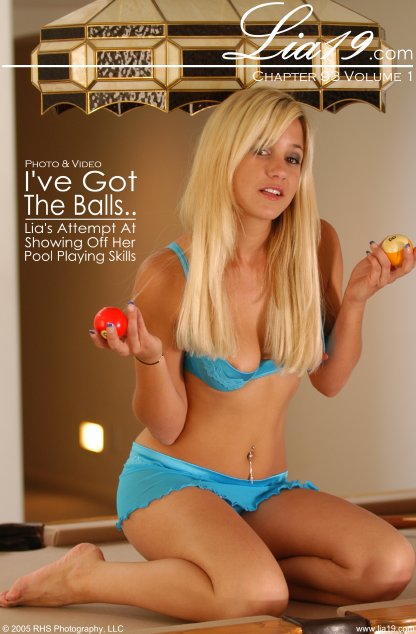 Lia19 - `Chapter 93 Volume 1 - I've Got The Balls..` - for LIA19