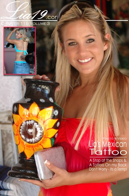 Lia19 - `Chapter 118 Volume 3 - Lia's Mexican Tattoo` - for LIA19