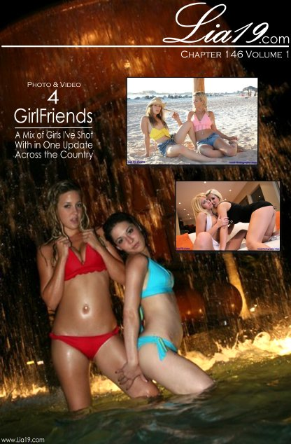 Lia19 - `Chapter 146 Volume 1 - 4 Girlfriends` - for LIA19