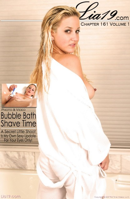 Lia19 - `Chapter 161 Volume 1 - Bubble Bath Shave Time` - for LIA19