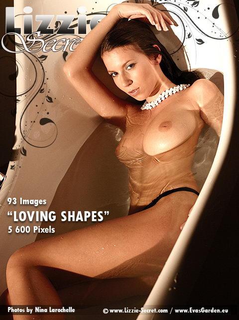 Lizzie - `Loving Shapes` - by Nina Larochelle for LIZZIE-SECRET