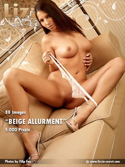 Lizzie - `Beige Allurment` - by Filip Fau for LIZZIE-SECRET