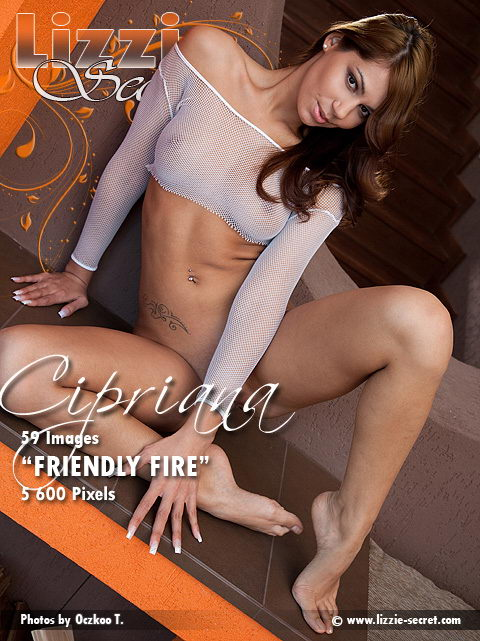 Cipriana - `Friendly Fire` - by Oczkoo T for LIZZIE-SECRET