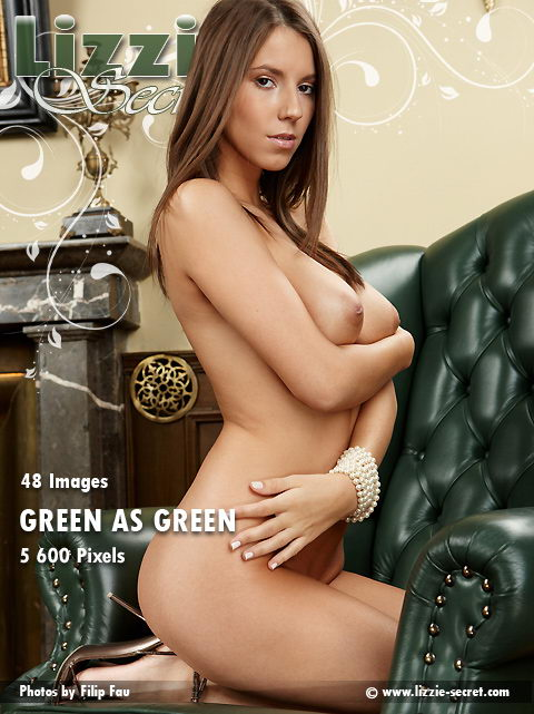 Lizzie - `Green As Green` - by Filip Fau for LIZZIE-SECRET