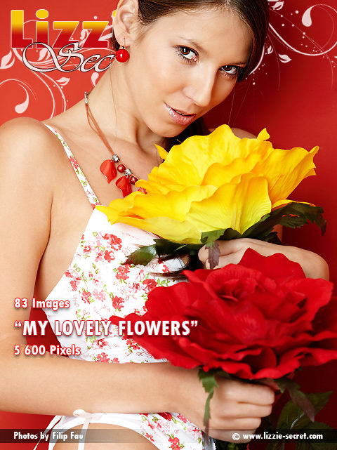 Lizzie - `My Lovely Flowers` - by Filip Fau for LIZZIE-SECRET