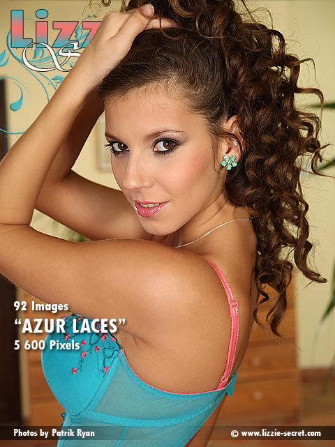 Lizzie - `Azur Laces` - by Patrik Ryan for LIZZIE-SECRET