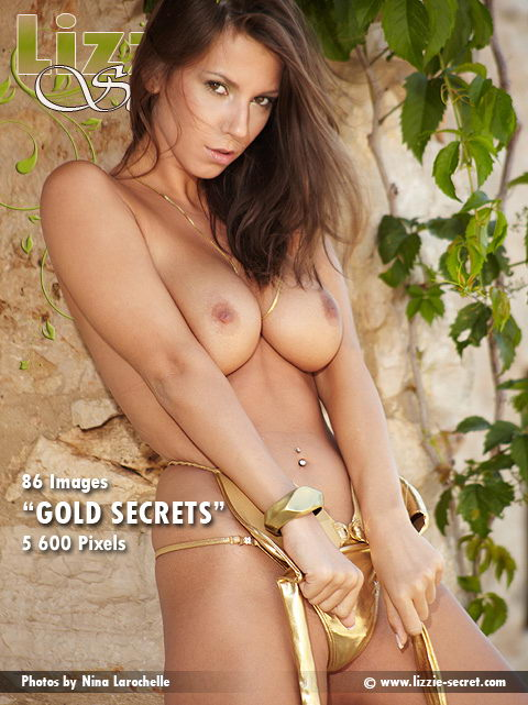 Lizzie - `Gold Secrets` - by Nina Rochelle for LIZZIE-SECRET