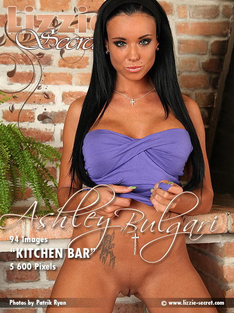 Ashley Bulgari - `Kitchen Bar` - by Patrik Ryan for LIZZIE-SECRET