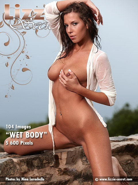 Lizzie - `Wet Body` - by Nina Larochelle for LIZZIE-SECRET