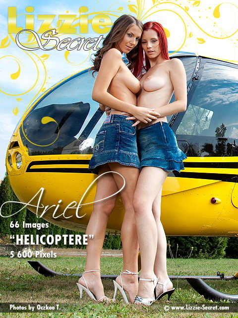 Ariel & Lizzie - `Helicoptere` - by Oczkoo T for LIZZIE-SECRET