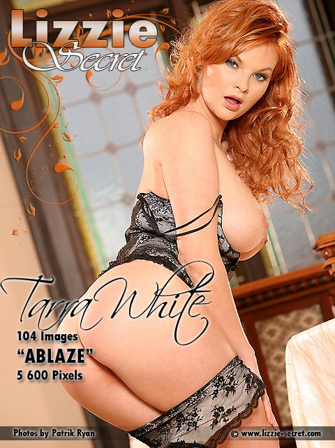 Tarra White - `Ablaze` - by Patrik Ryan for LIZZIE-SECRET