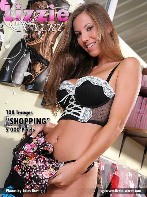 Lizzie - `Shopping` - by Jules Bart for LIZZIE-SECRET