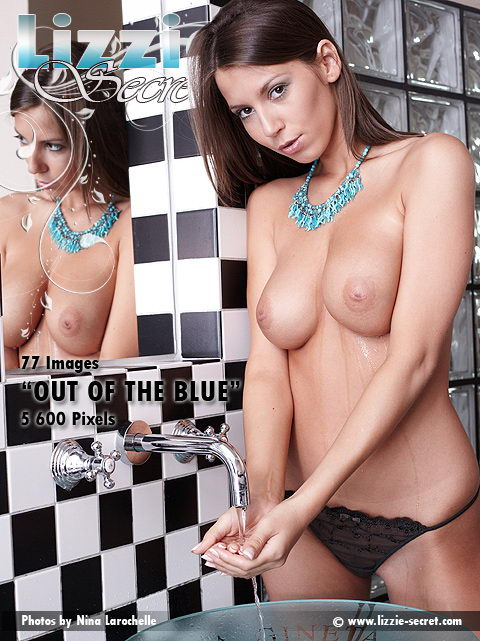 Lizzie - `Out Of The Blue` - by Nina Larochelle for LIZZIE-SECRET