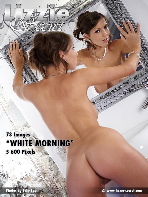 Lizzie - `White Morning` - by Filip Fau for LIZZIE-SECRET