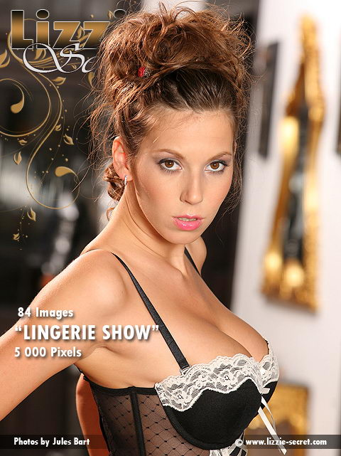 Lizzie - `Lingerie Show` - by Jules Bart for LIZZIE-SECRET