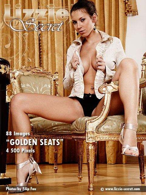Lizzie - `Golden Seats` - by Filip Fau for LIZZIE-SECRET