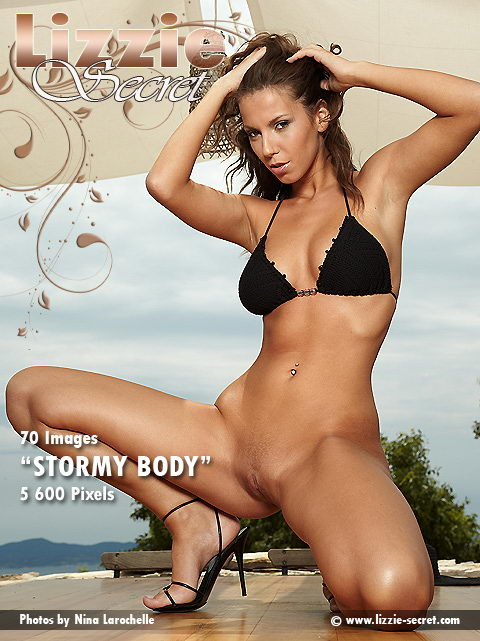 Lizzie - `Stormy Body` - by Nina Larochelle for LIZZIE-SECRET