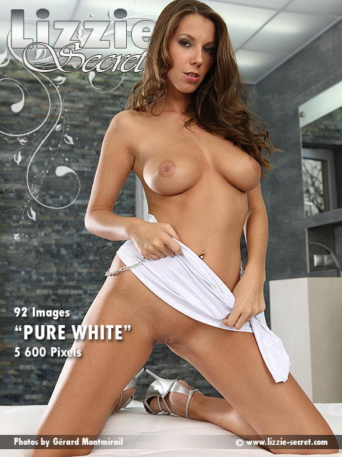 Lizzie - `Pure White` - by Gerard Montmirail for LIZZIE-SECRET