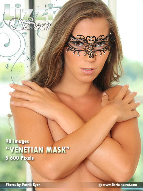 Lizzie - `Venetian Mask` - by Patrik Ryan for LIZZIE-SECRET