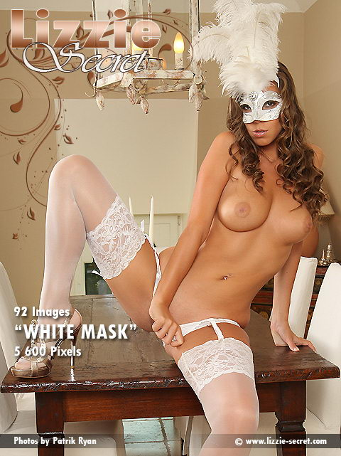 Lizzie - `White Mask` - by Patrick Ryan for LIZZIE-SECRET