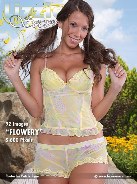 Lizzie - `Flowery` - by Patrik Ryan for LIZZIE-SECRET