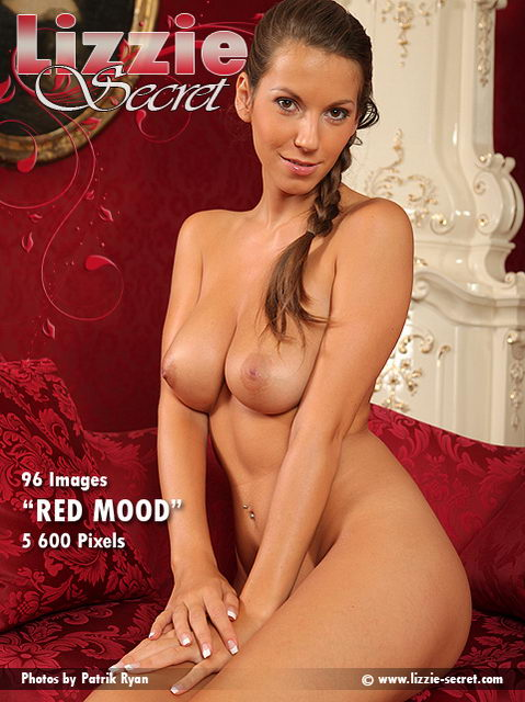 Lizzie - `Red Mood` - by Patrik Ryan for LIZZIE-SECRET