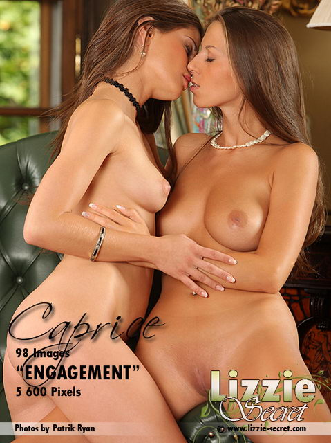 Caprice & Lizzie - `Engagement` - by Patrik Ryan for LIZZIE-SECRET