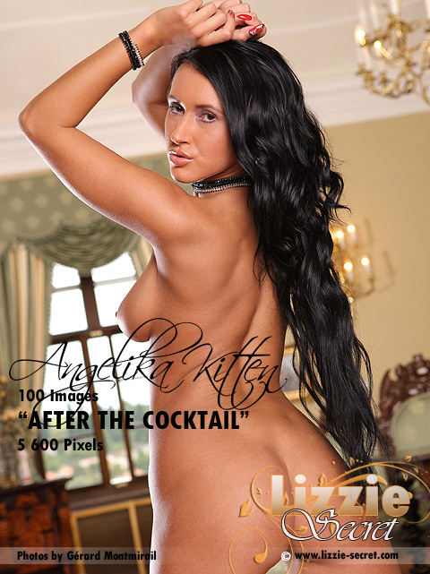 Angelika Kitten - `After The Cocktail` - by Gerard Montmirail for LIZZIE-SECRET
