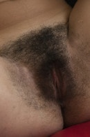 Alya in Hairy Pussy gallery from LOVE HAIRY by Angela Linin