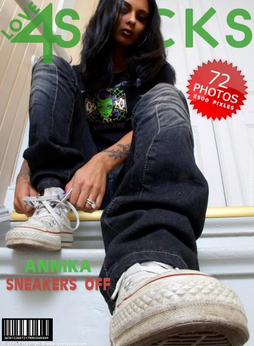 Annika - `Sneakers Off` - for LOVE4SOCKS