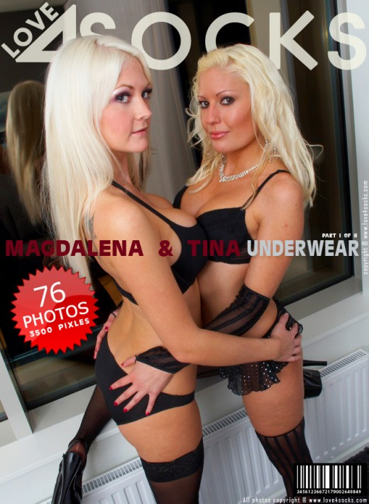 Magdalena & Tina - `Underwear - Part 1` - for LOVE4SOCKS