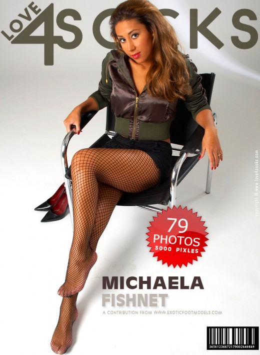 Michaela - `Fishnet` - for LOVE4SOCKS