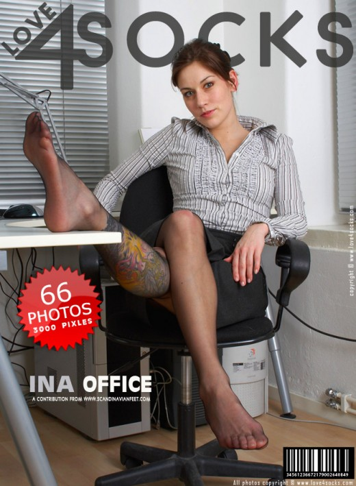 Ina - `Office` - for LOVE4SOCKS
