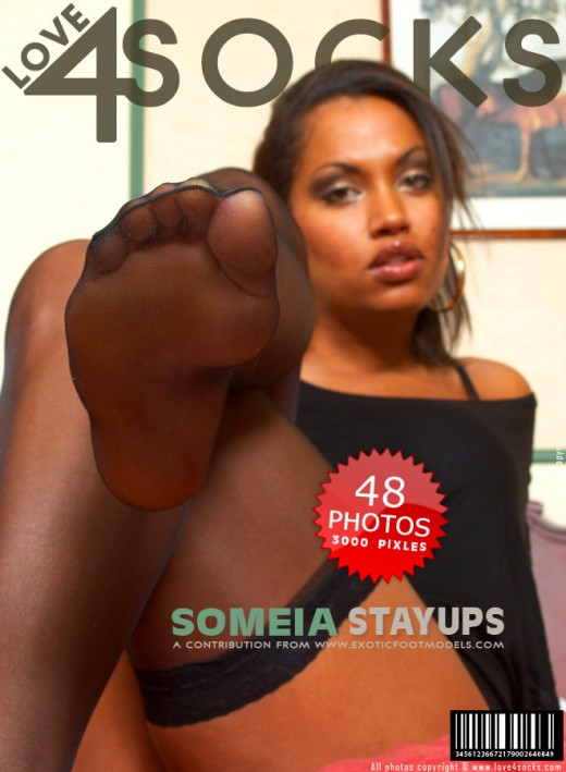 Someia - `Stay Ups` - for LOVE4SOCKS