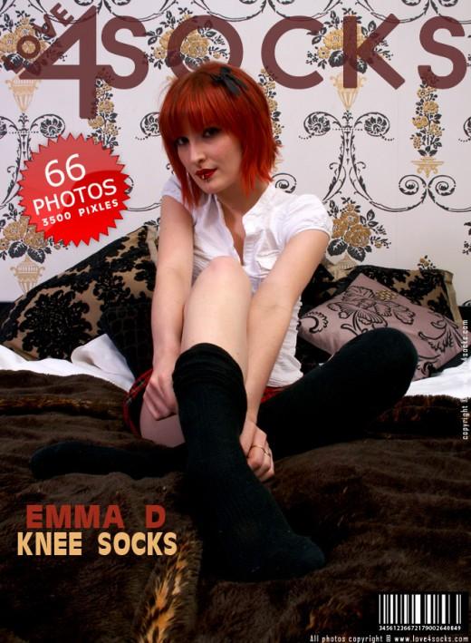 Emma D - `Knee Socks` - for LOVE4SOCKS
