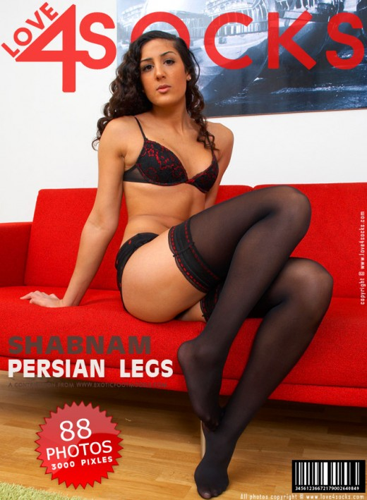Shabnam - `Persian Legs` - for LOVE4SOCKS